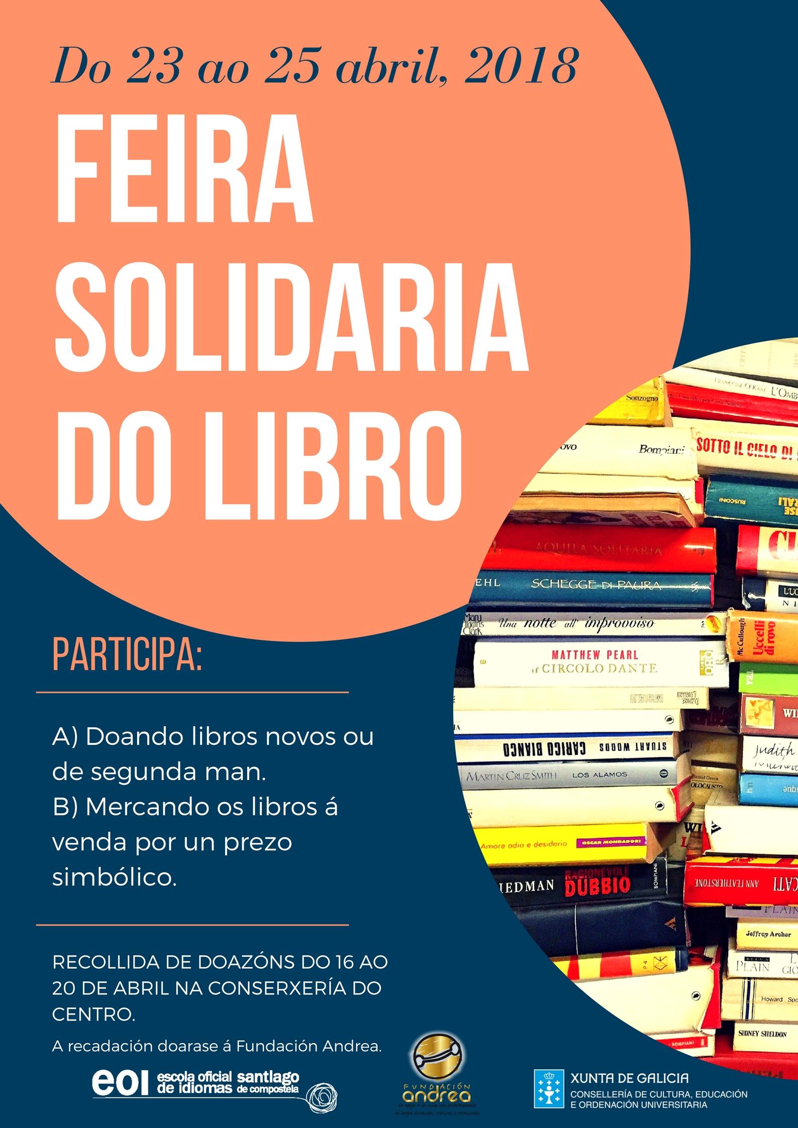 Feira solidaria do libro 2